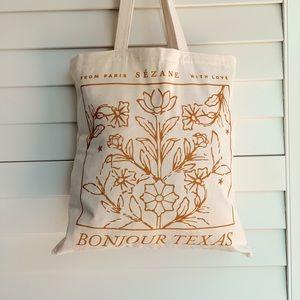 Bonjour Texas Sézane Tote Bag